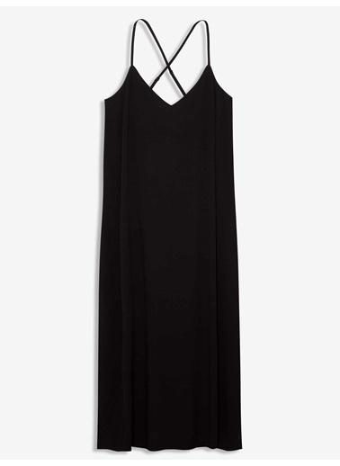 Gap Elbise Siyah